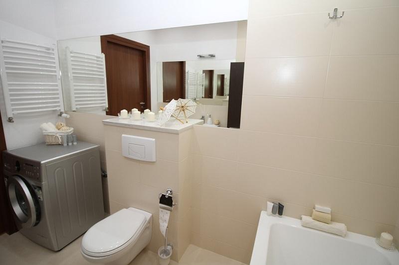 Grzejnik stalowy w łazience